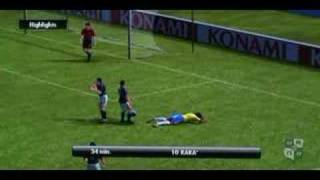 PES 2008 Demo: Diving Cheat!