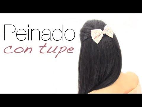 Peinado fácil con volumen