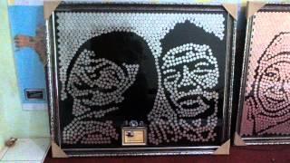 getlinkyoutube.com-www.Mahar-Nikah.com : Mosaic Koin Lukisan Wajah , Produk Mahar Nikah yang Unik nan Artistik