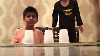 getlinkyoutube.com-تحدي الكاسات مع باتمان