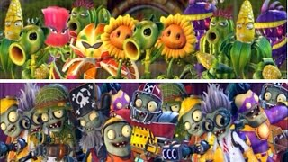 getlinkyoutube.com-Plants vs. Zombies Garden Warfare 2 - All Plants and Zombies (NEW Characters)