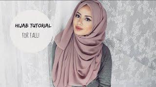 getlinkyoutube.com-Easy Hijab Styles for Fall! | Hijab Tutorial | Hijabhills