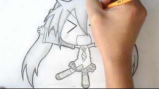 "getlinkyoutube.com-""Paso a Paso"" Como Dibujar Chibi Miku-san 