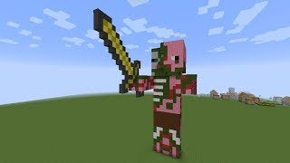 getlinkyoutube.com-как построить Свинозомби(Zombie Pigman) в minecraft