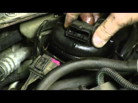 Opel Zafira B 1.9 CDTI меняем топливный фильтр