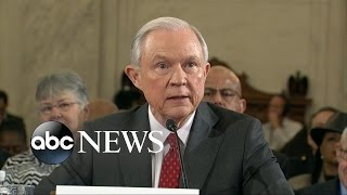 getlinkyoutube.com-Jeff Sessions Comes Under Fire During Attorney General Confirmation Hearing