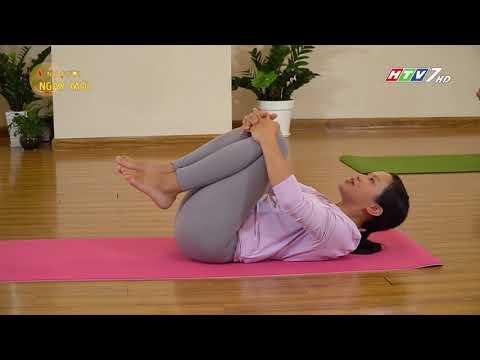 Bài yoga giúp dễ ngủ
