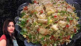 getlinkyoutube.com-Chicken Fried Rice - Restaurant style by manisha