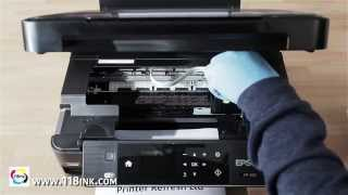 getlinkyoutube.com-How to clean blocked Epson Brother Kodak Hp Printer Heads Clean - Remove Clogged Ink with ease