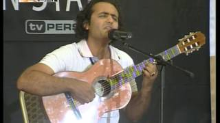 getlinkyoutube.com-Reza Shirkani - First great performance,TV Persia one, Next Persian Star, 2009 10 14
