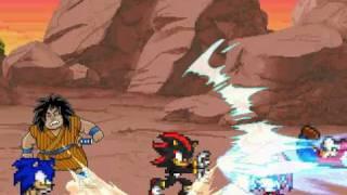 getlinkyoutube.com-Sonic the Hedgehog Z Mugen:  Fight 1