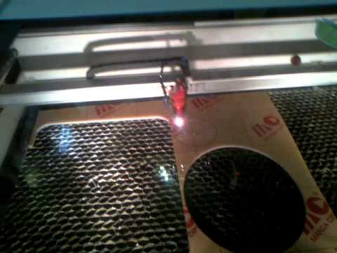 AMAZING!!!  when laser cutting an object with fast