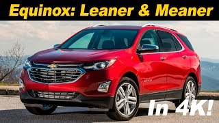2018 Chevrolet Equinox First Drive Review | In 4K UHD!