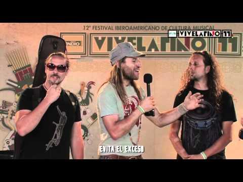 IndioTV: Vive Latino - Ginger Ninjas