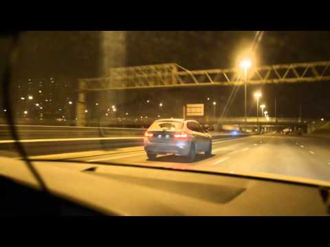 Audi A4 300 hp vs BMW X1 300+ hp ROLL