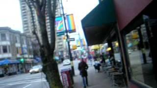 getlinkyoutube.com-Davie St Vancouver BC Walking Tour
