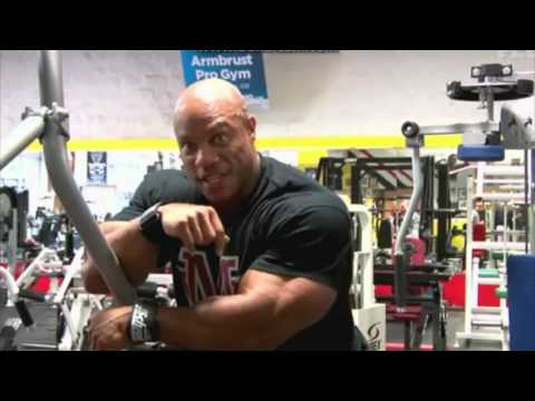 Phil Heath - Quest For A Sandow 2010 Back, Chest and Leg FULL TRAINING VIDEO