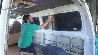 getlinkyoutube.com-Toyota Hiace Campervan Conversion Australia Part 2