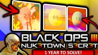 NUKETOWN'S BIGGEST EASTER EGG EVER FOUND! (1 Year to Find!) (Black Ops 3 Nuketown Secret Easter Egg)
