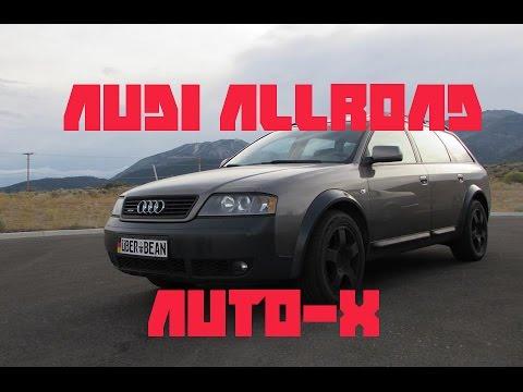 2003 Audi Allroad Auto-x Reno SCCA Stead 4/10/16