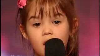 getlinkyoutube.com-America's Got Talent - Kaitlyn Maher - Youngest Singer I have ever seen