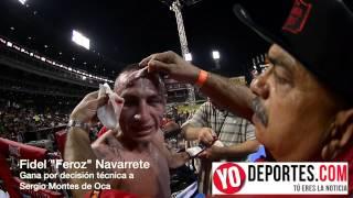 Fidel Navarrete molesto con Sergio Montes de Oca