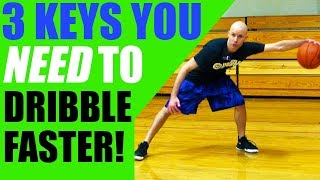 getlinkyoutube.com-How To Dribble A Basketball FASTER! Get Better Handles In Basketball