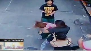 getlinkyoutube.com-BT: Suntukan ng dalawang babae, nakunan ng CCTV