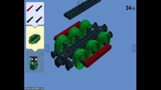 getlinkyoutube.com-Lego Digital Designer Steam Train