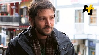 "Diego Luna Talks ""Nana"" (2015 Sundance Film Festival)"