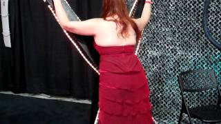 Heather Height gets whipped by a Dragon Tail