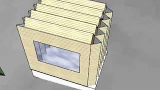 getlinkyoutube.com-Foldable shelter for Cold climate