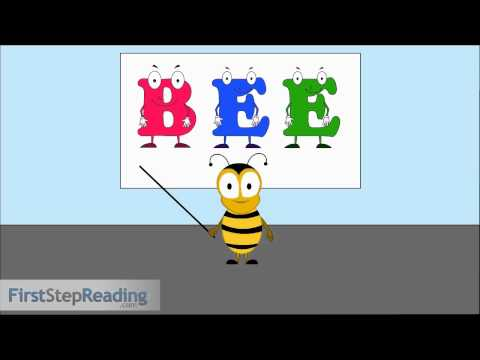 Long Vowel E Vowel Vowel, Beginning Readers Grammar Phonics Lesson