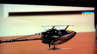 getlinkyoutube.com-NEW:::Tareq Alsaadi flying in DUBAI TV Studio - ALIGN T-REX 450