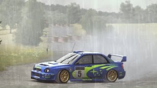 getlinkyoutube.com-Dirt Rally - Subaru Impreza Bugeye Prodrive WRC @ Baumholder