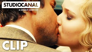 getlinkyoutube.com-SERENA CLIP #1 - Jennifer Lawrence and Bradley Cooper share a passionate kiss in Serena