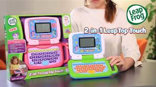 LeapFrog® 2 In 1 LeapTop Touch™