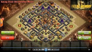 getlinkyoutube.com-Clash Of Clans 10TH War Base (275 Walls) New Update