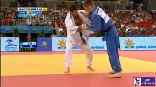 getlinkyoutube.com-Judo 2013 European Championships Budapest: Nazaryan (ARM)  - van Gansbeke (BEL) [-66kg]