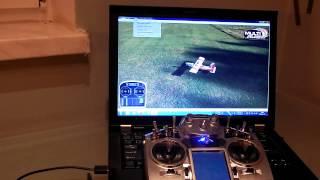 getlinkyoutube.com-Turnigy TGY-i10 - Simulator - Podłączenie do symulatora