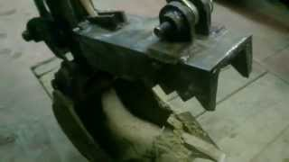 getlinkyoutube.com-home made thumb for mini digger first test