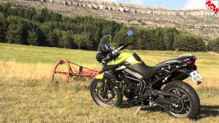 getlinkyoutube.com-Comparatif Tiger 800 vs DL 650 V-Strom