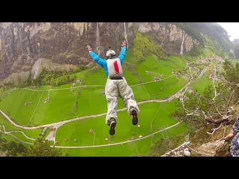 Real BASE Jumping | Extreme Adventures | Monte Brento & Lauterbrunnen