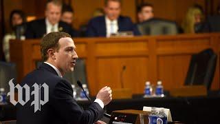 5 awkward moments at the Facebook hearing