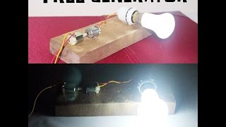 getlinkyoutube.com-How to make a Generator at Home - Easy way