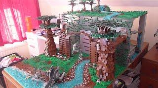 getlinkyoutube.com-LEGO Star Wars clone Prison on Talus( Base #1)