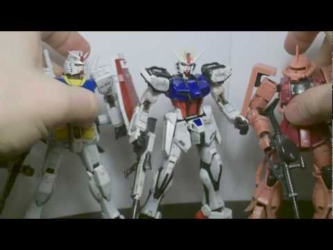 1/144 RG Aile Strike Gundam Review