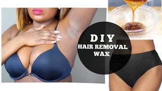 getlinkyoutube.com-DIY HAIR REMOVAL SUGAR WAX FOR PUBIC AND UNDER ARM  | Live Demo
