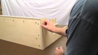 getlinkyoutube.com-Vertical Freestanding Gun Rack Assembly