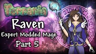 getlinkyoutube.com-Terraria 1.3.4 Expert Modded Mage Let's Play Part 5 | Raven vs The Desert Scourge!